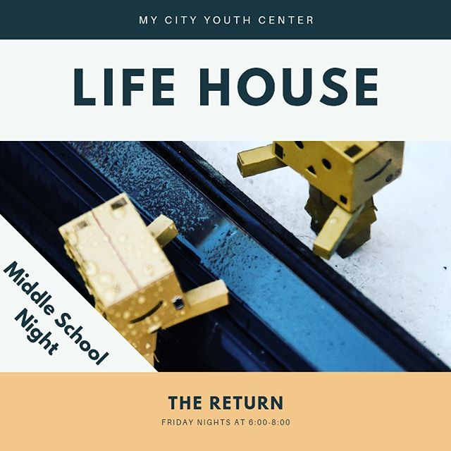 We're rebooting, rebuilding, and bringing new life to Life House. New faces, new activities, and new format. Come in and join us, lets eat, build, grow and laugh together! Bring a friend and be entered into a monthly drawing ✍️ for a prize! Life House is a weekly program for middle-High school aged students from all over the valley. 6pm-8pm every Friday at My City Youth Center, 145 N Tahquitz Ave. In Hemet. Call (951)652-0647 for details. See you soon!!! Adult Volunteers get random prizes too! (Come in to the office for details)