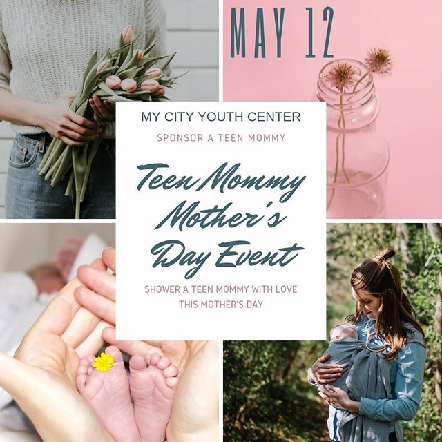 My City Youth is hosting a Mother's Day event for our beautiful Teen Mommy program participants. The event is on May 12. We are putting on an event that includes a nice meal, gifts, and random prizes. We are hoping to make all of our mommies feel special and loved.  We often get messages asking how they can participate in this event so we are posting this information and letting our friends and family know that this is an opportunity to provide a significant gift (i.e. a massage day, a day at glen ivy, manicure, hair appointment, special boutique gift card, luxurious gift basket, etc) to one of our teen mommies.  If you or your life group, business or family want to bring some love to the life of on of these special ladies, please contact Erika or Becky in the office (951) 652-0647.  Gifts should be given to the office by May 8th, 5pm.  Thank you and God Bless!