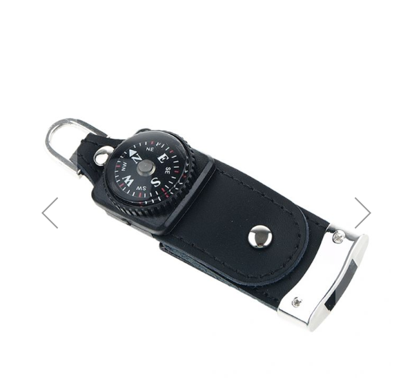 8 Gigabyte USB Compass, with snap-lock drive.