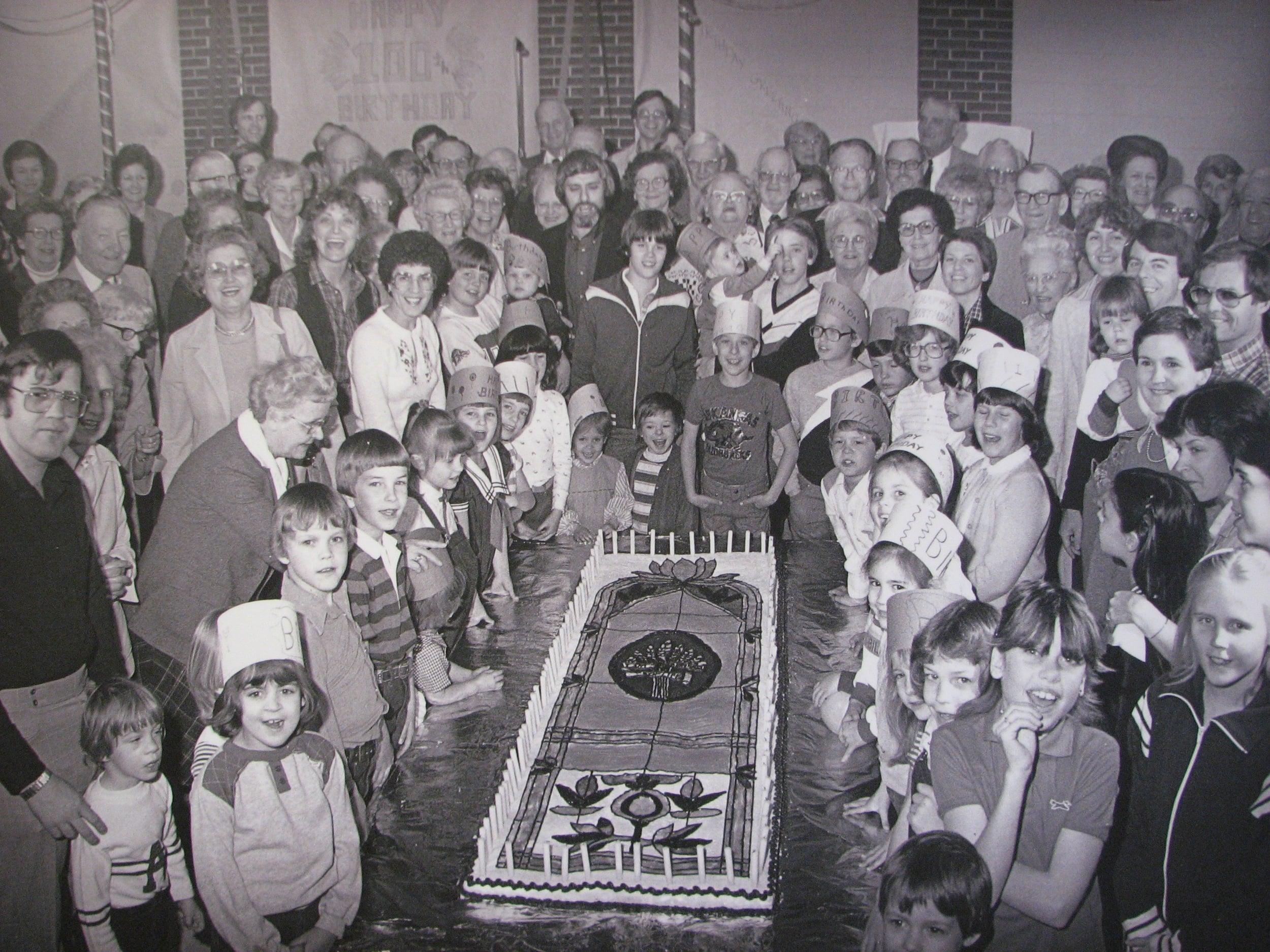 CUMC Centennial Celebration in 1981.