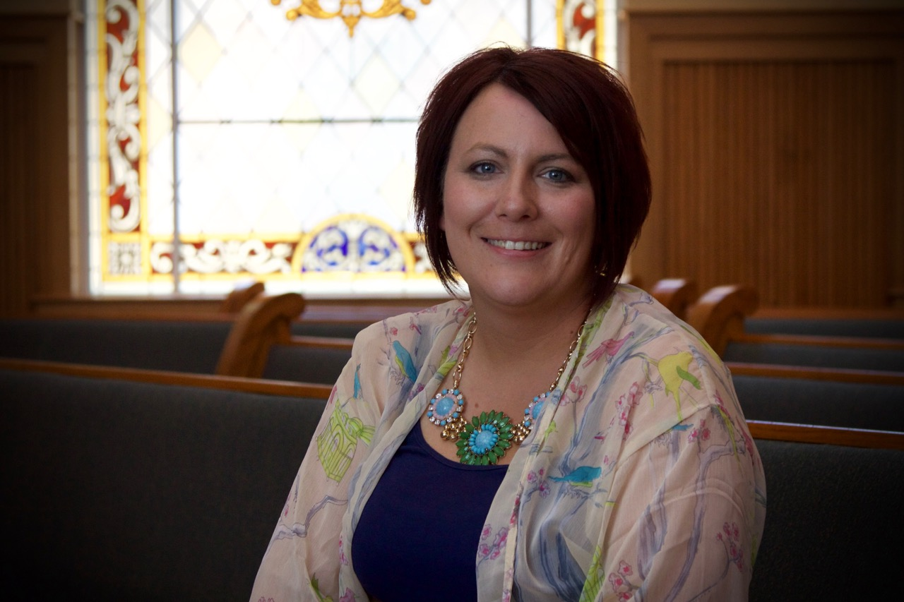 Lucy Swanson , Director of Youth Ministries