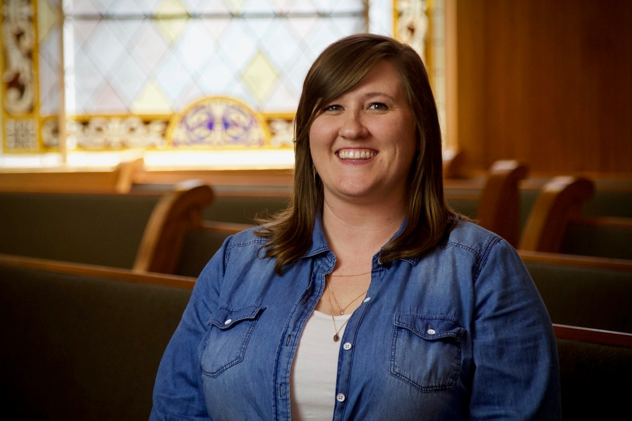 Amy Penny,  First Impressions Coordinator