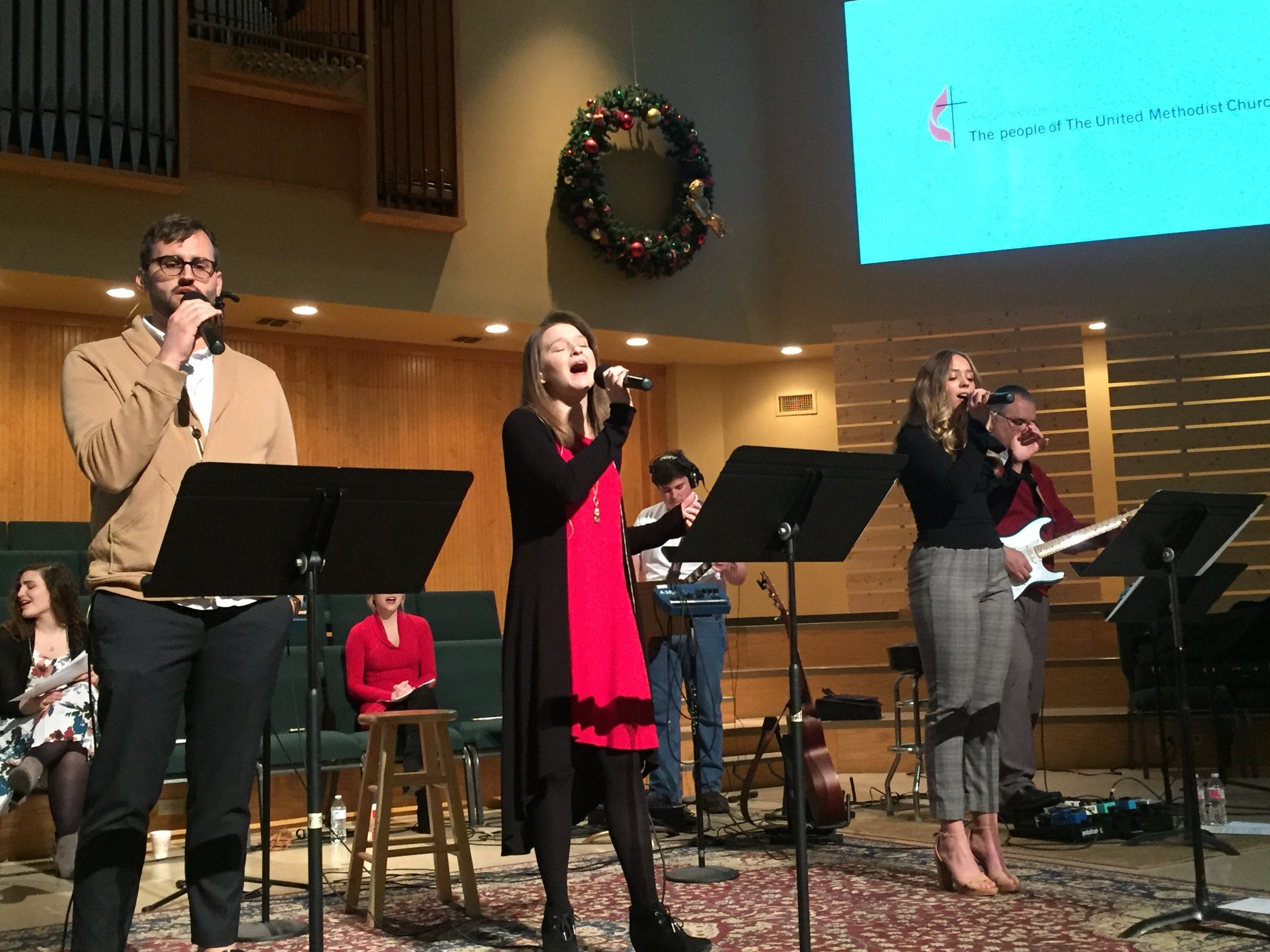 Contemporary Worship Praise Team, Christmas Eve 2018