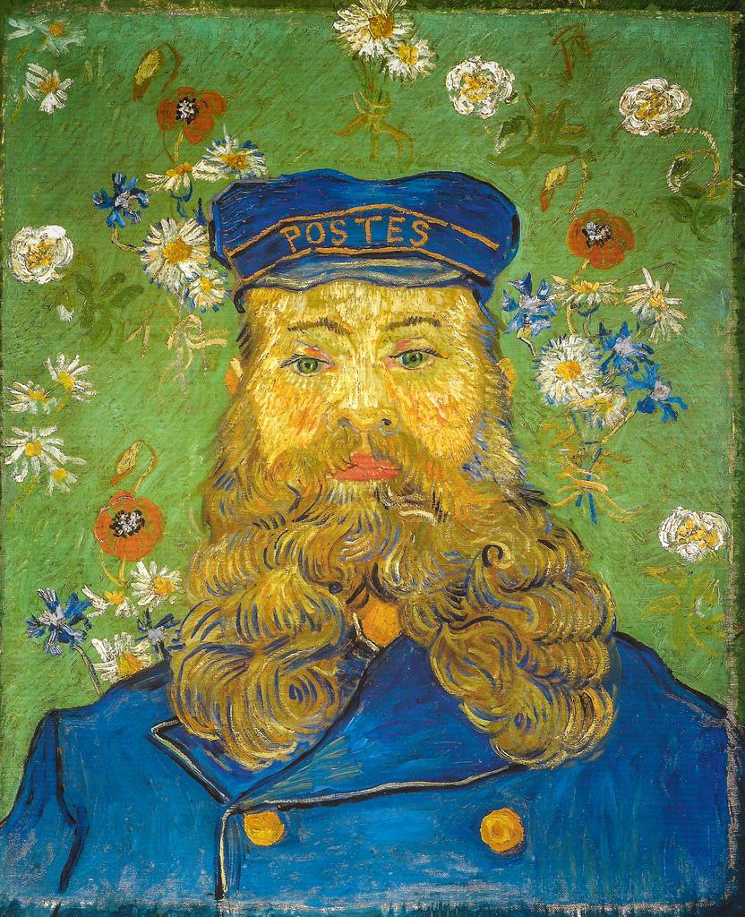 Vincent van Gogh -The Postman Joseph Roulin, 1889 (Kröller-Müller Museum - Otterio)
