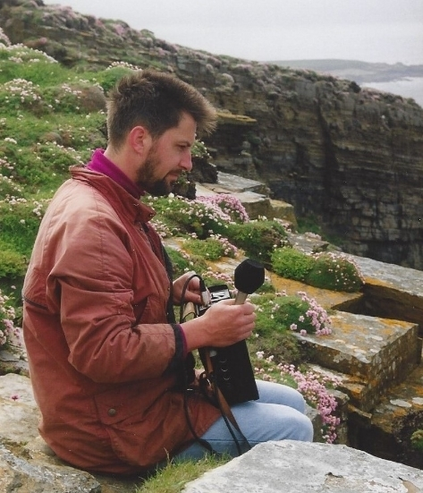 BBC - Recording in the Orkney Islands - Scotland - 1995