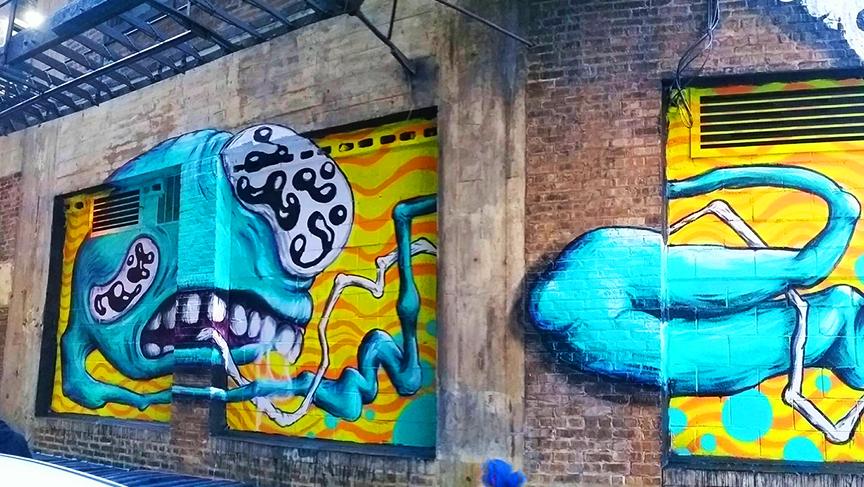 Travelodge Mural