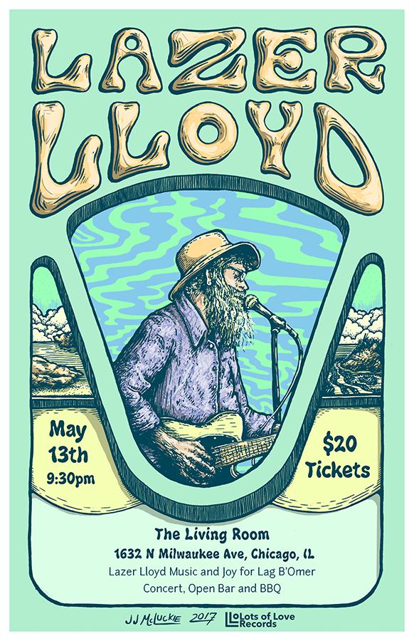 Lazer Lloyd Tour Poster