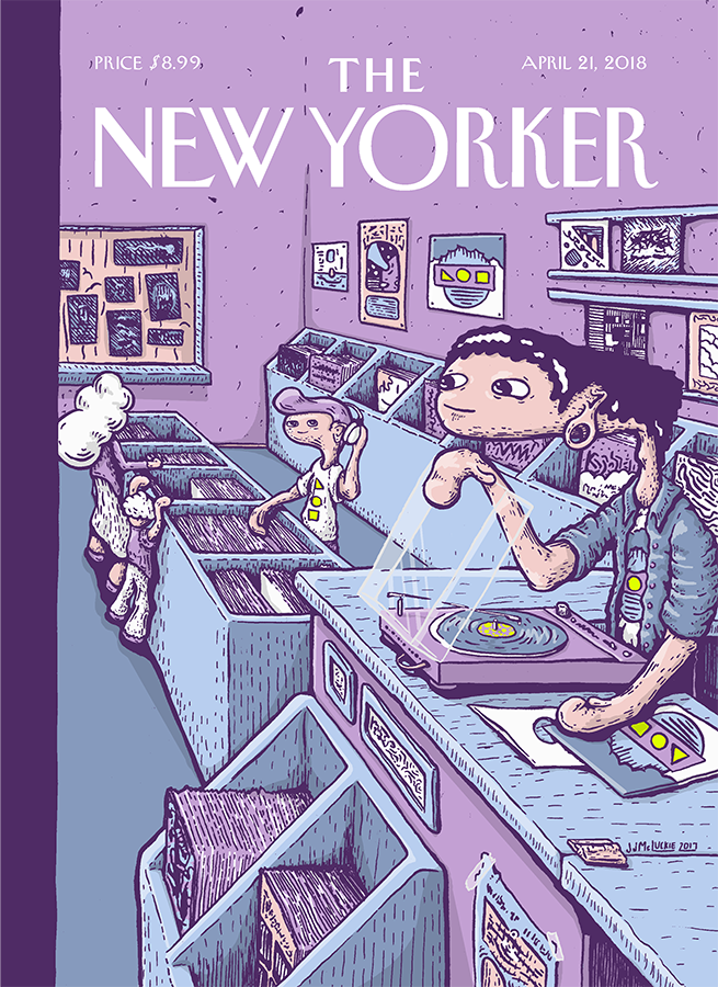 New Yorker Record Store Day Cover