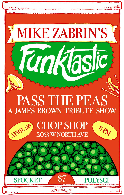Mike Zabrin's Funktastic Poster
