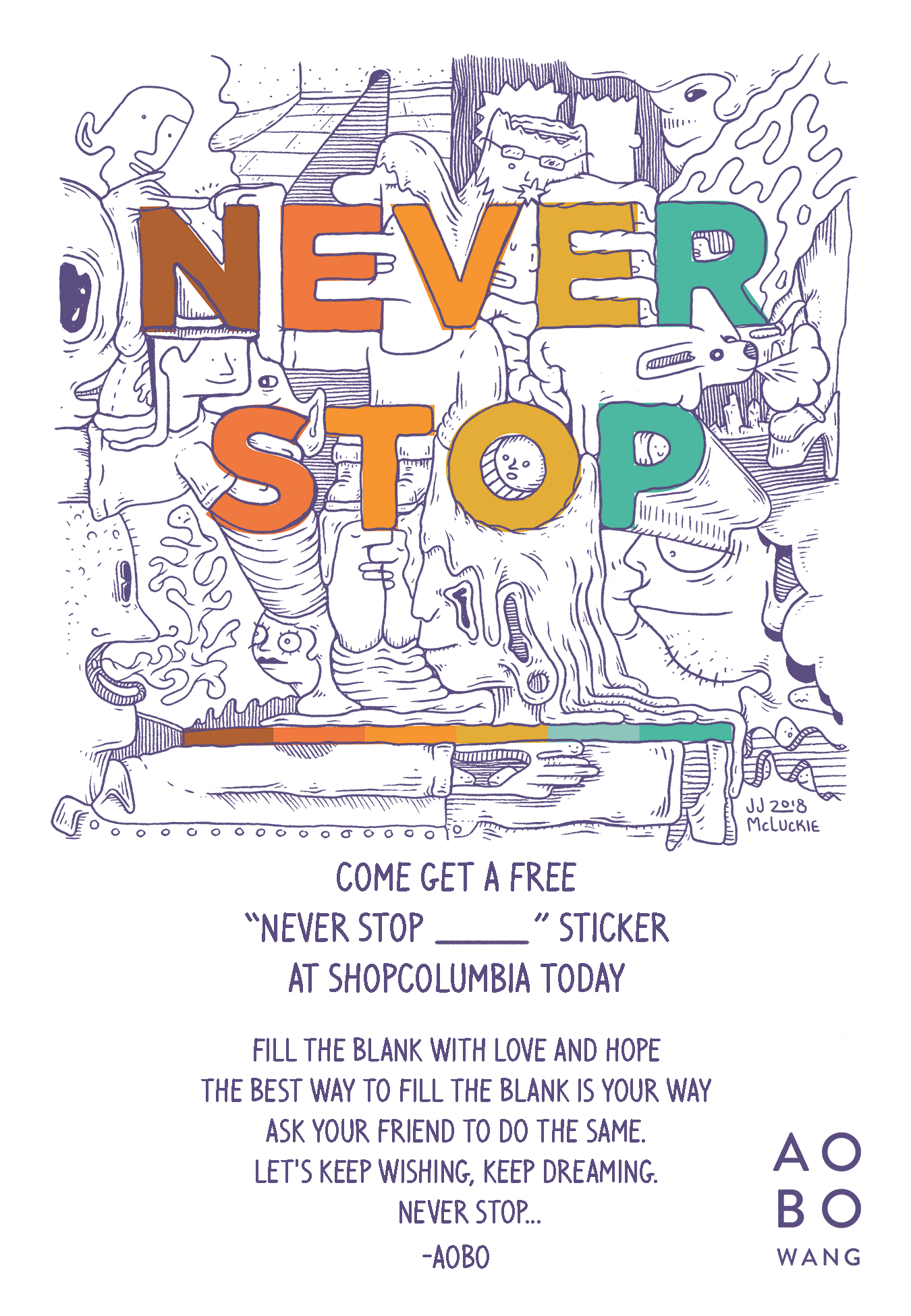 Never Stop Release Poster