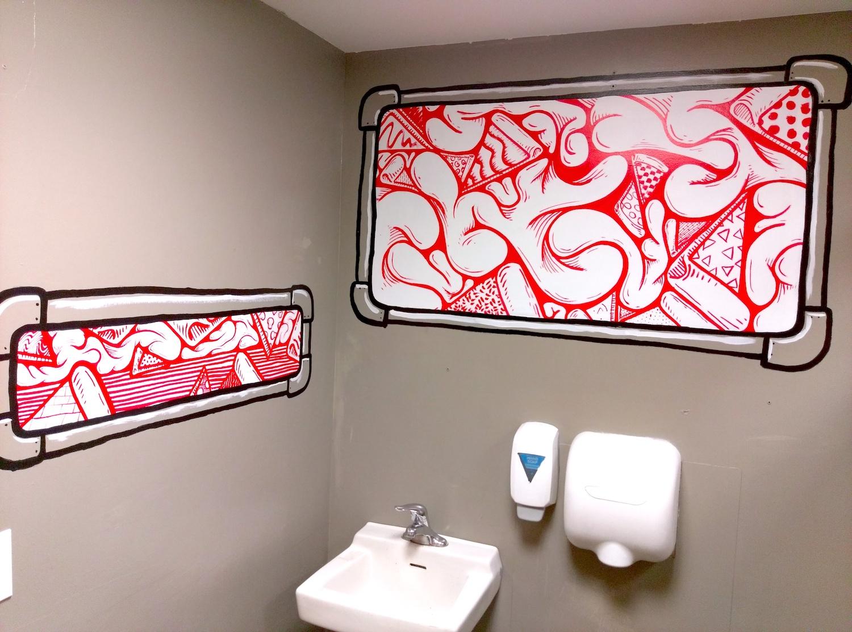 Dimo's Pizza Women's Restroom