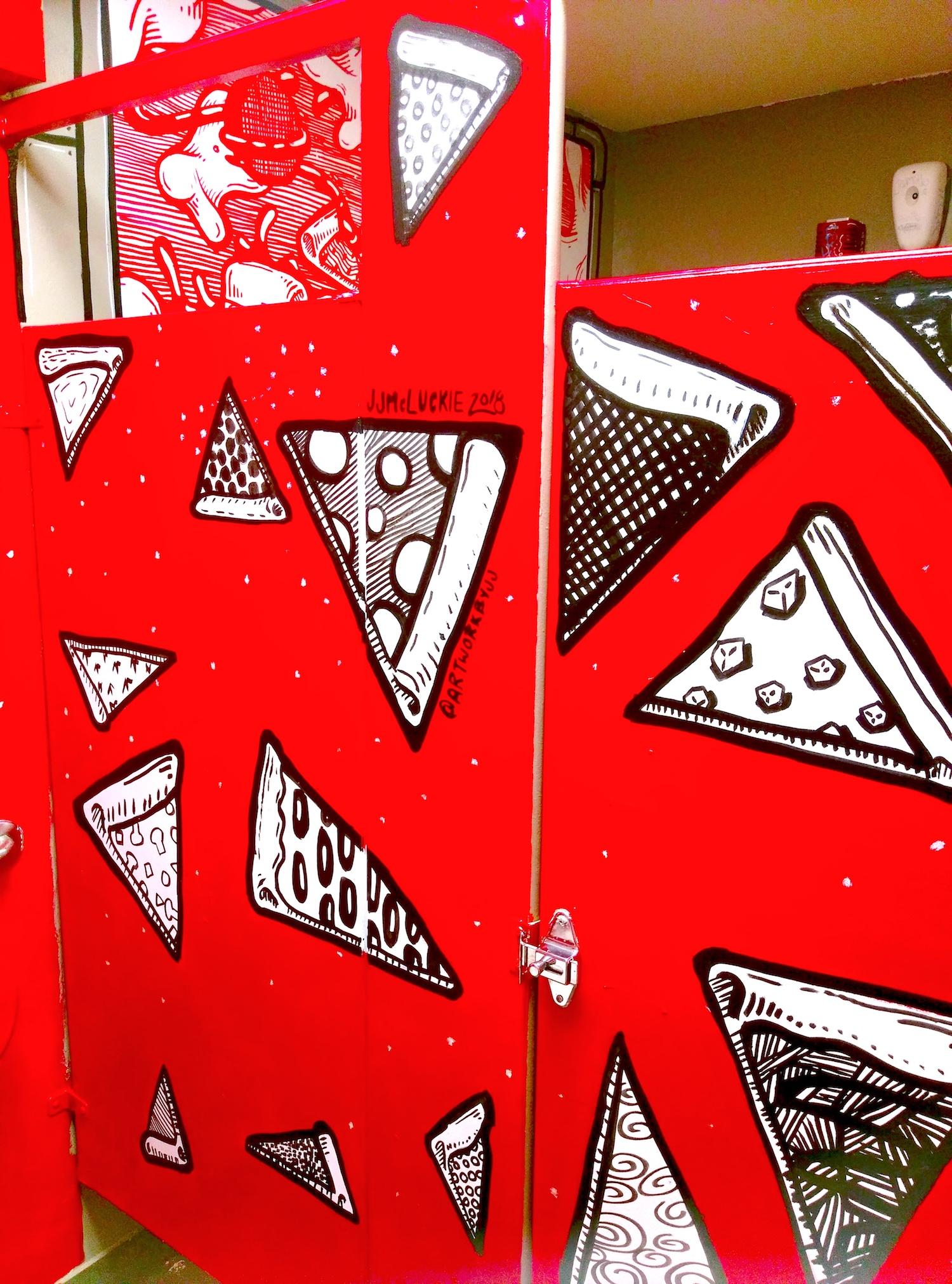 Dimo's Pizza Men's Restroom