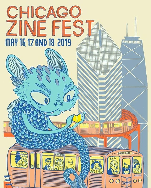 Tomorrow 11am-6pm, I'll be at table F5 for @chicagozinefest with fresh books and free bookmarks 💚❤🖤📓 Chicago Zine Fest 2019 will be our 10th year — please plan on celebrating with us! CZF 2019 Exhibition Day will be held on Saturday, May 18 at Plumbers Union Hall (1340 W Washington Blvd) in the West Loop. All events during CZF weekend are always FREE and open to the public. . . . . #JJMcLuckie #chicagozinefest #Chicago #zine #illustration #comics #Expo #comix #queerart #design #freeinchicago #books #bookdesign #selfpublication #printing #riso #newbooks #poetry #art #chicagoartist #music #poster #ink #acen #2019