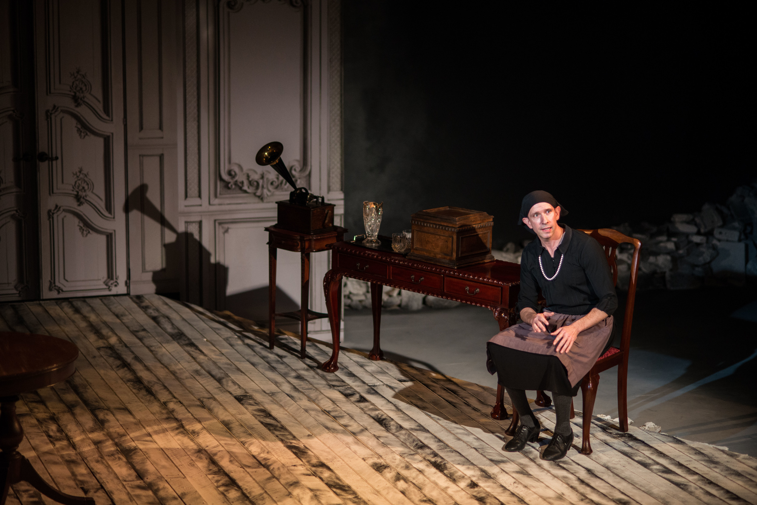 Charlie DelMarcelle in  I Am My Own Wife . Photo by Mark Garvin.
