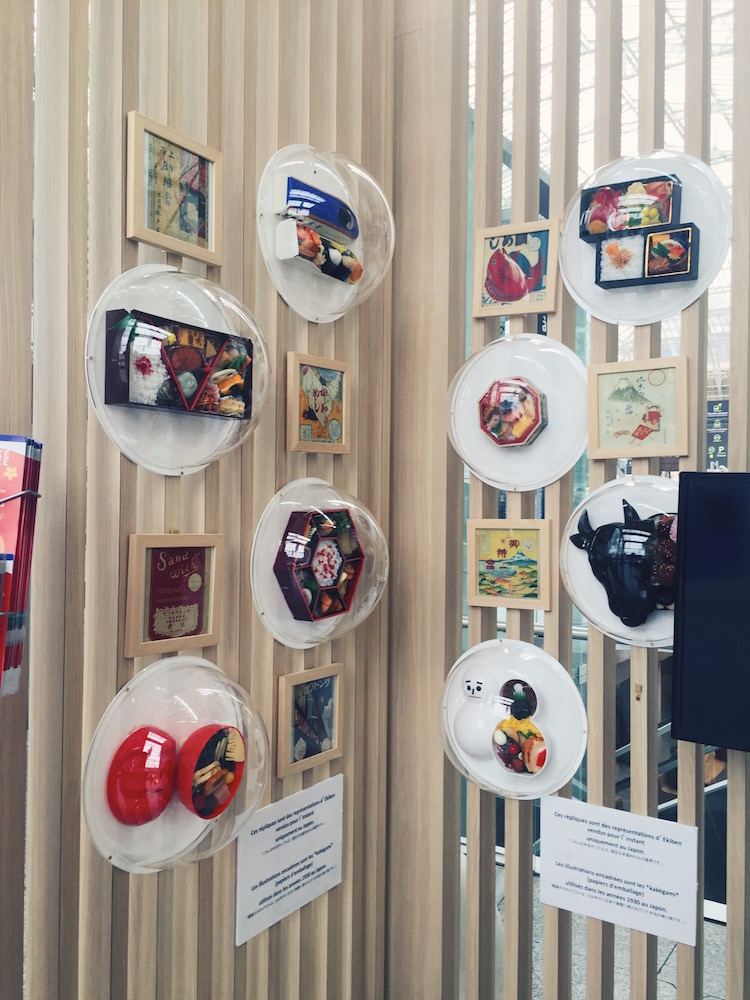 Display of different dishes and its story