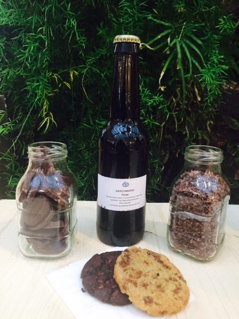 JHC cookies, Porter Beer & the spent grains