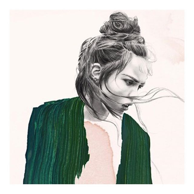 S T O R M Y 🌫 #mood Share on http://www.rovanio.com #emotions w/ The impressionable @luciebirant #illustration #art #fashion #lifestyle #ROVANIO #rovanioblog #ROVINSTA #blogger #paris #indonesia #peace #love #worldwide #happyweekend