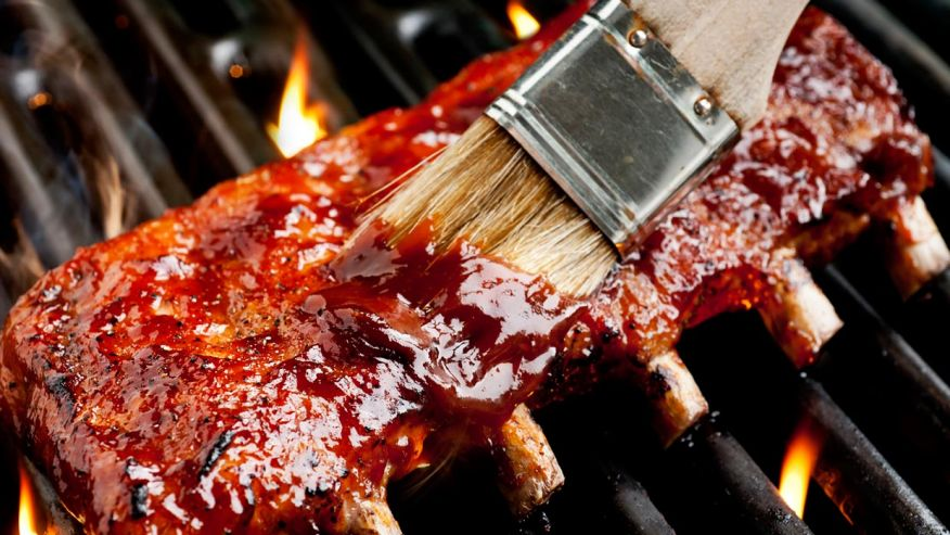 This is a great rib and Cabernet recipe from  Weber
