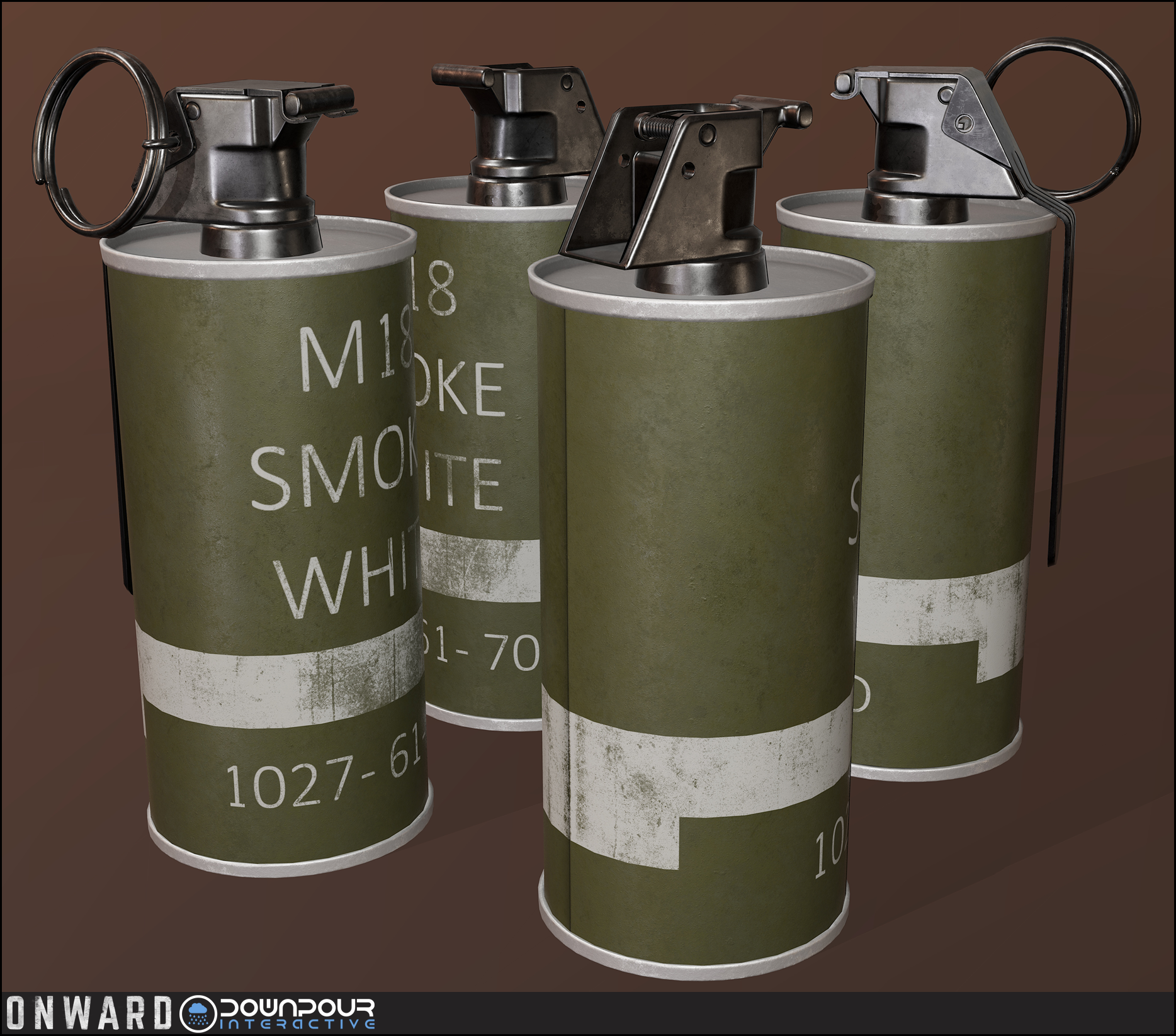 New replacement model for the smoke grenade.
