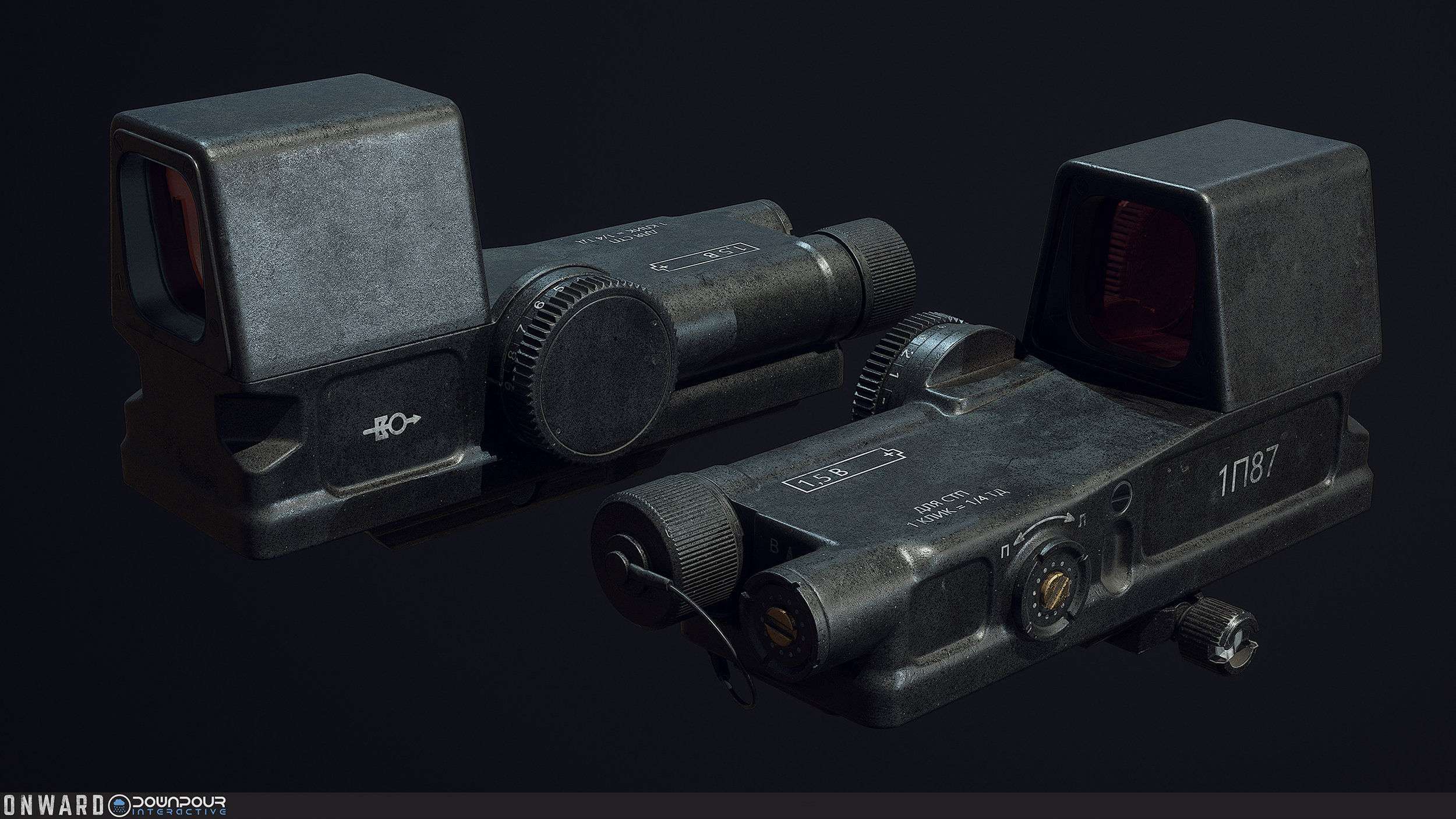 The new PK-120 sight, replacing the holographic sight on the VOLK faction.
