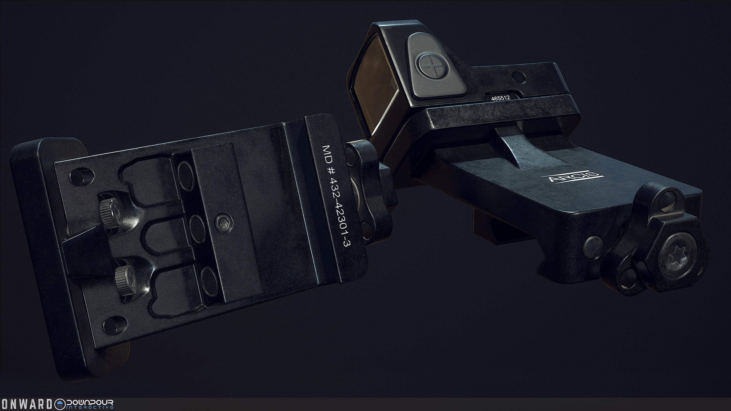 The new angled sight for the MARSOC faction.