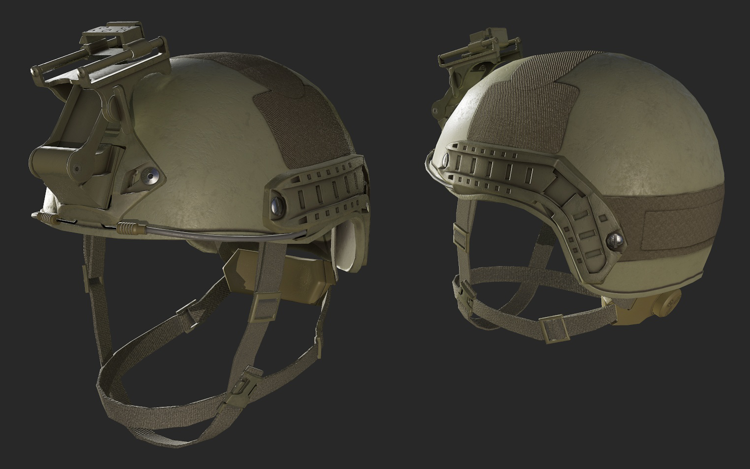 Copy of New model for the helmet for MARSOC.