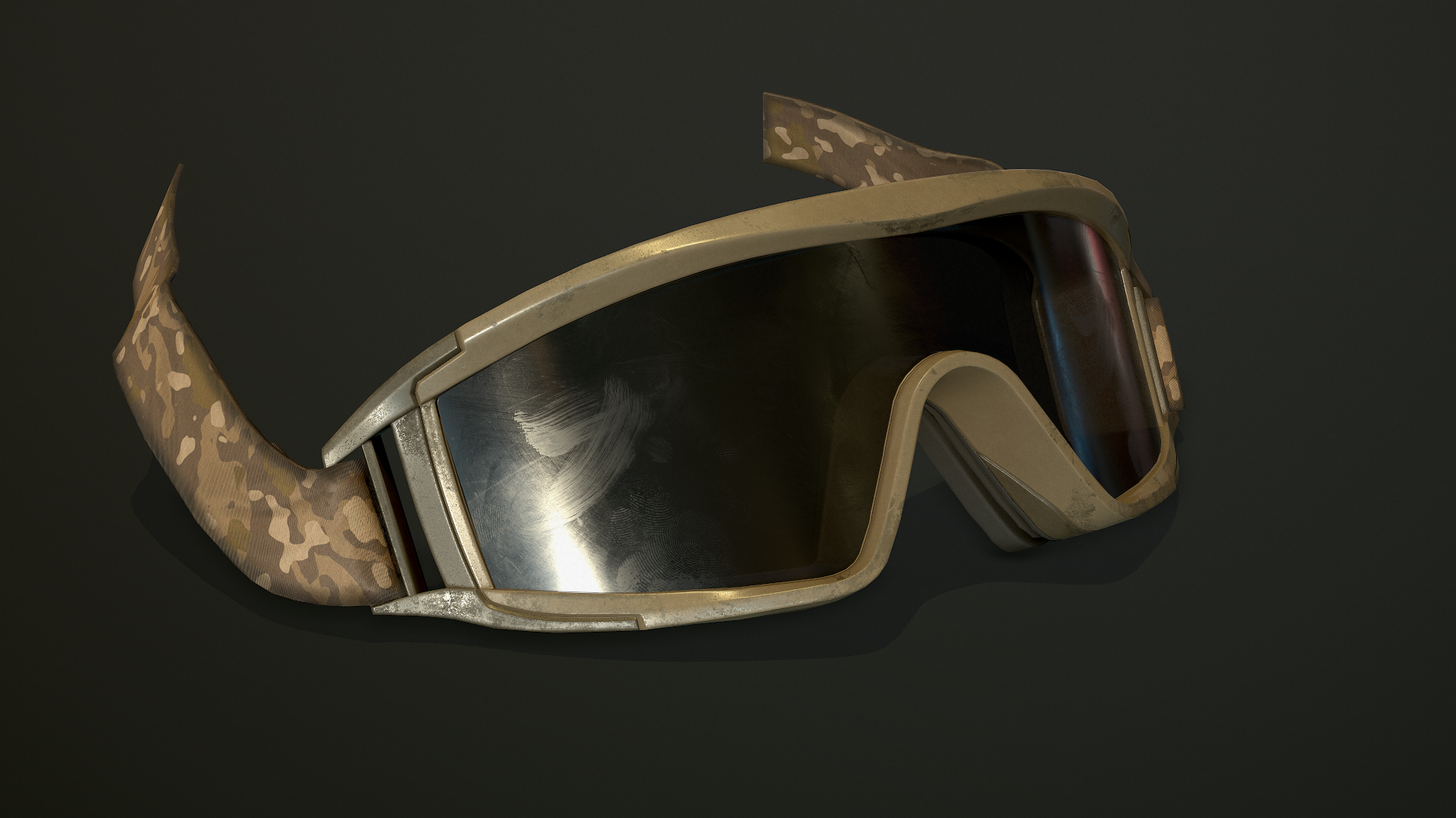 New textures for the sand goggles.