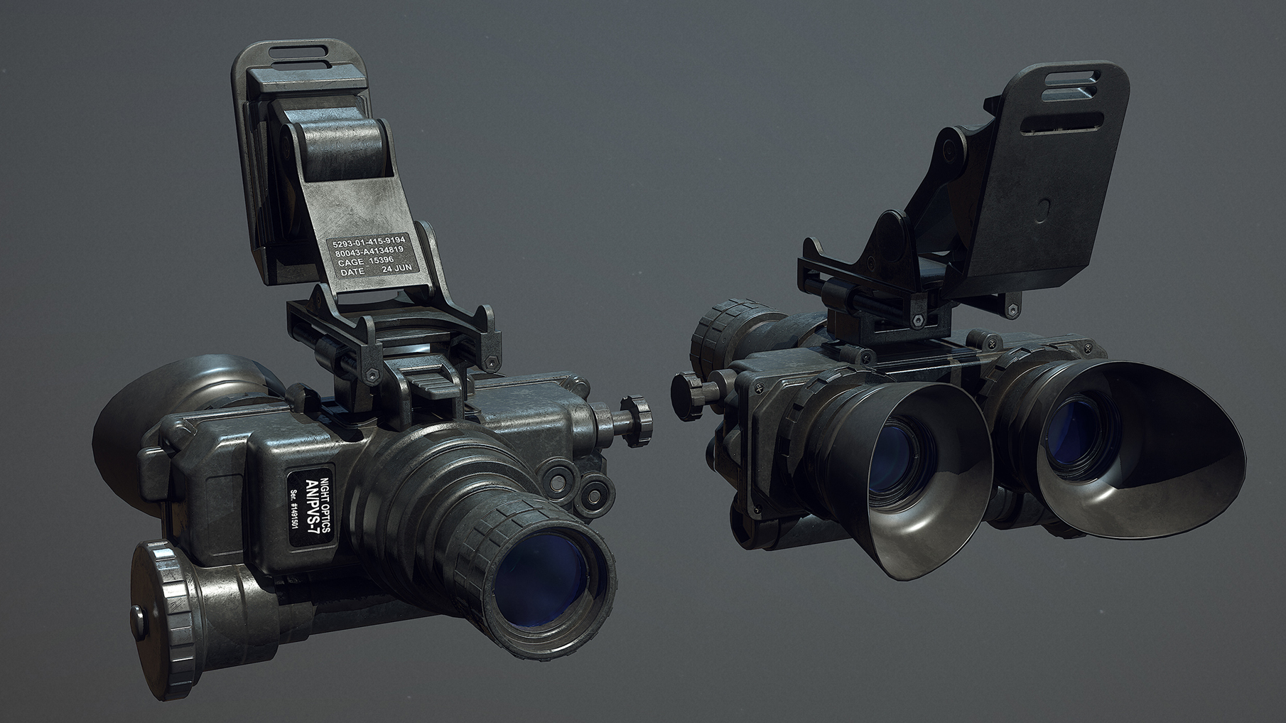 new model for the AN/PVS-7, night vision goggles for the VOLK faction.