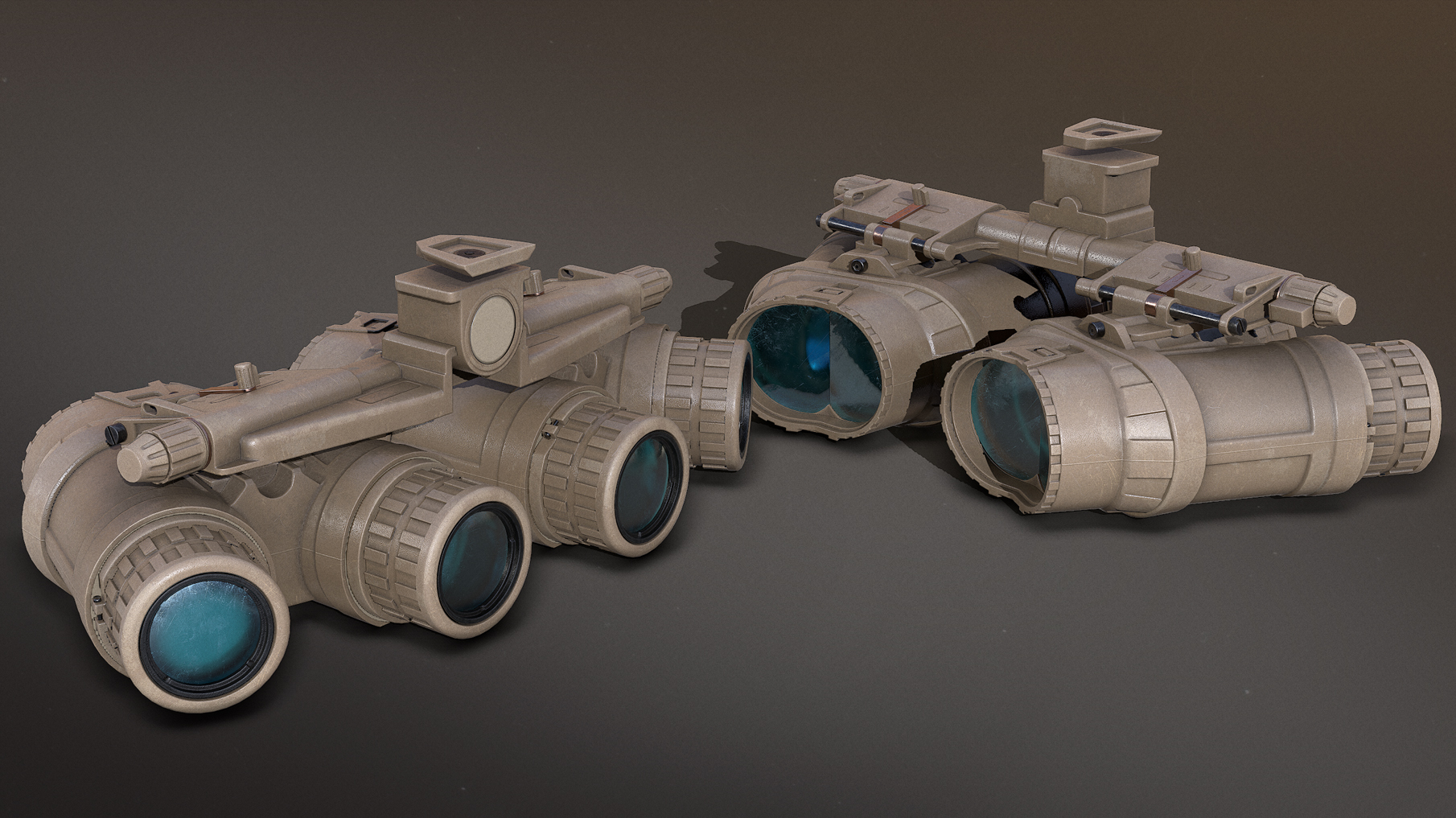 New model for the GPNVG, night vision goggles for the MARSOC faction.