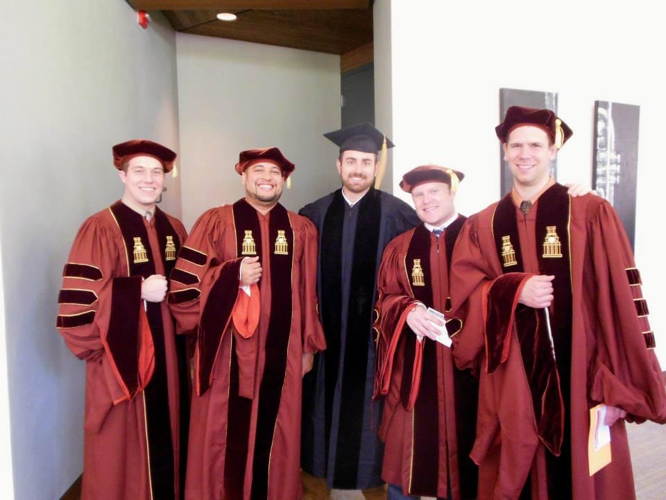 UT Austin Doctoral Granting Ceremony