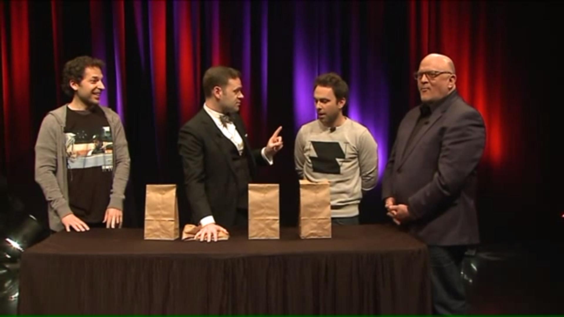 Click to watch The Magic Parlour with Charlie Day on WGN