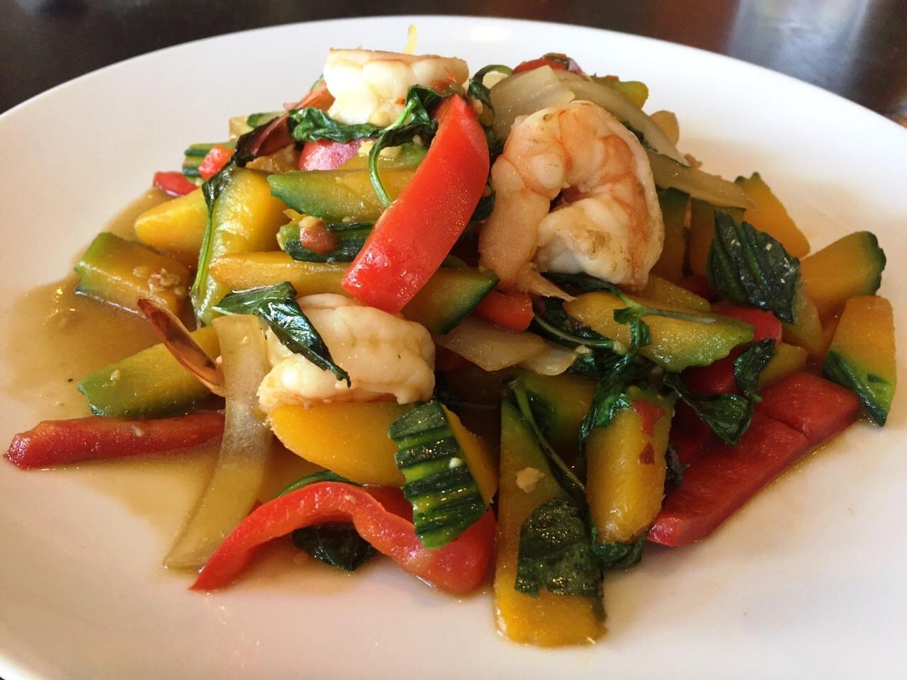 Thai Basil Shrimp & Pumpkin