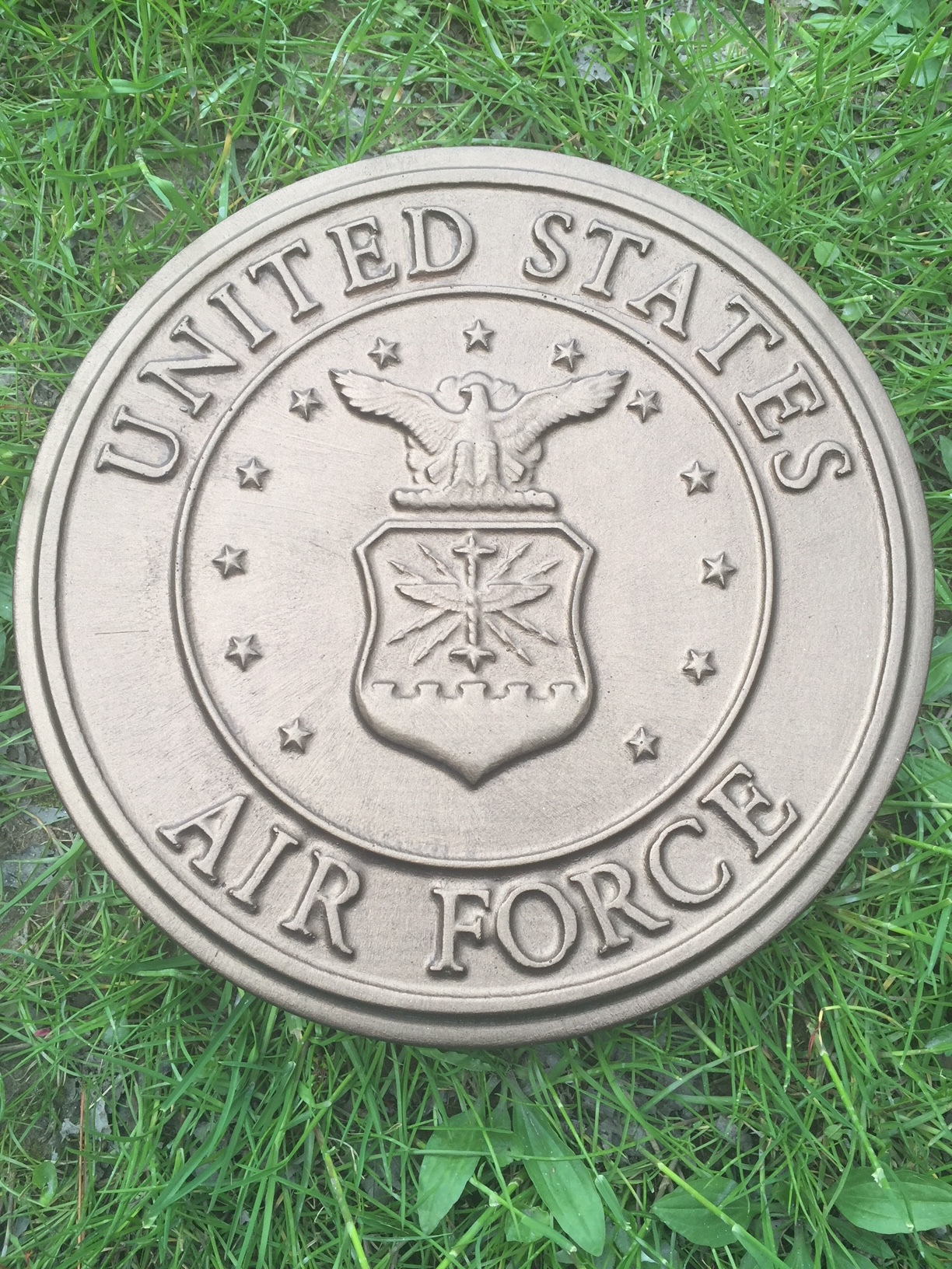 Navy Military Concrete Mold