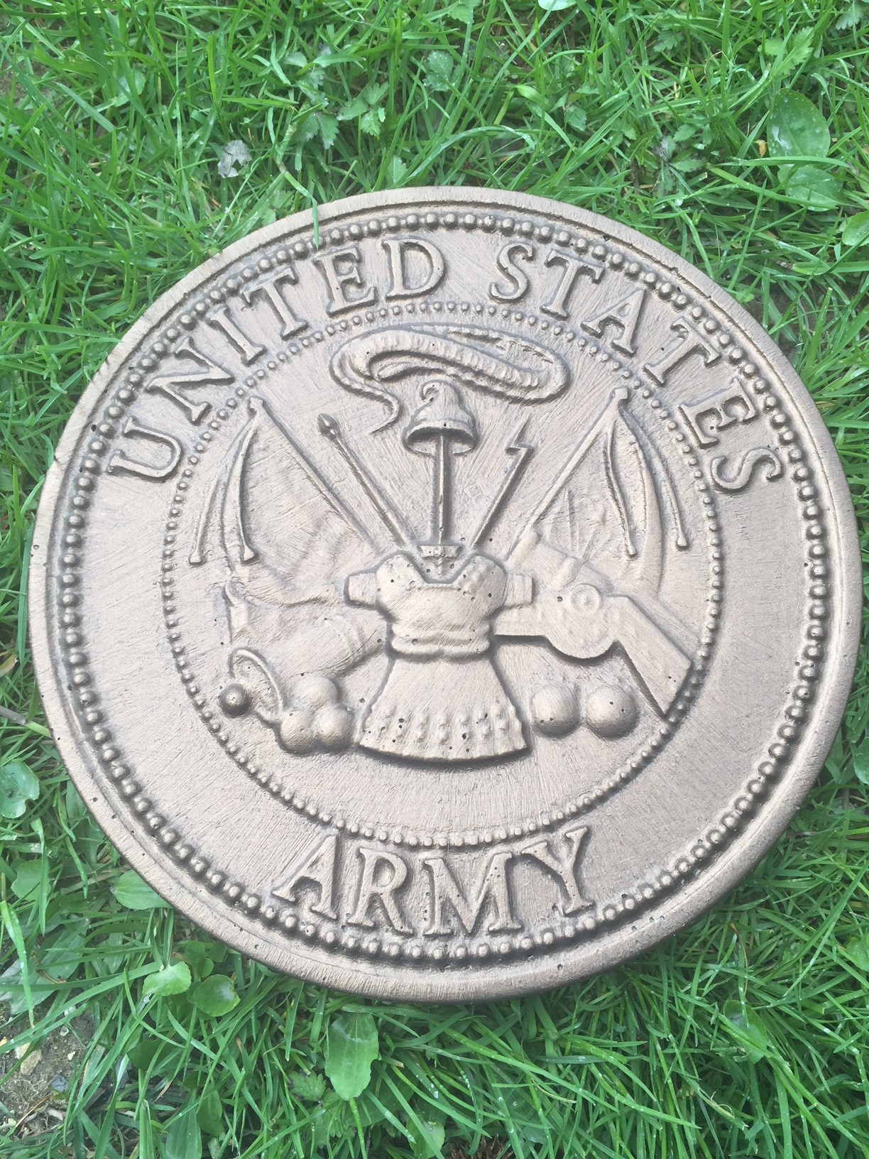 Army Military Concrete Mold