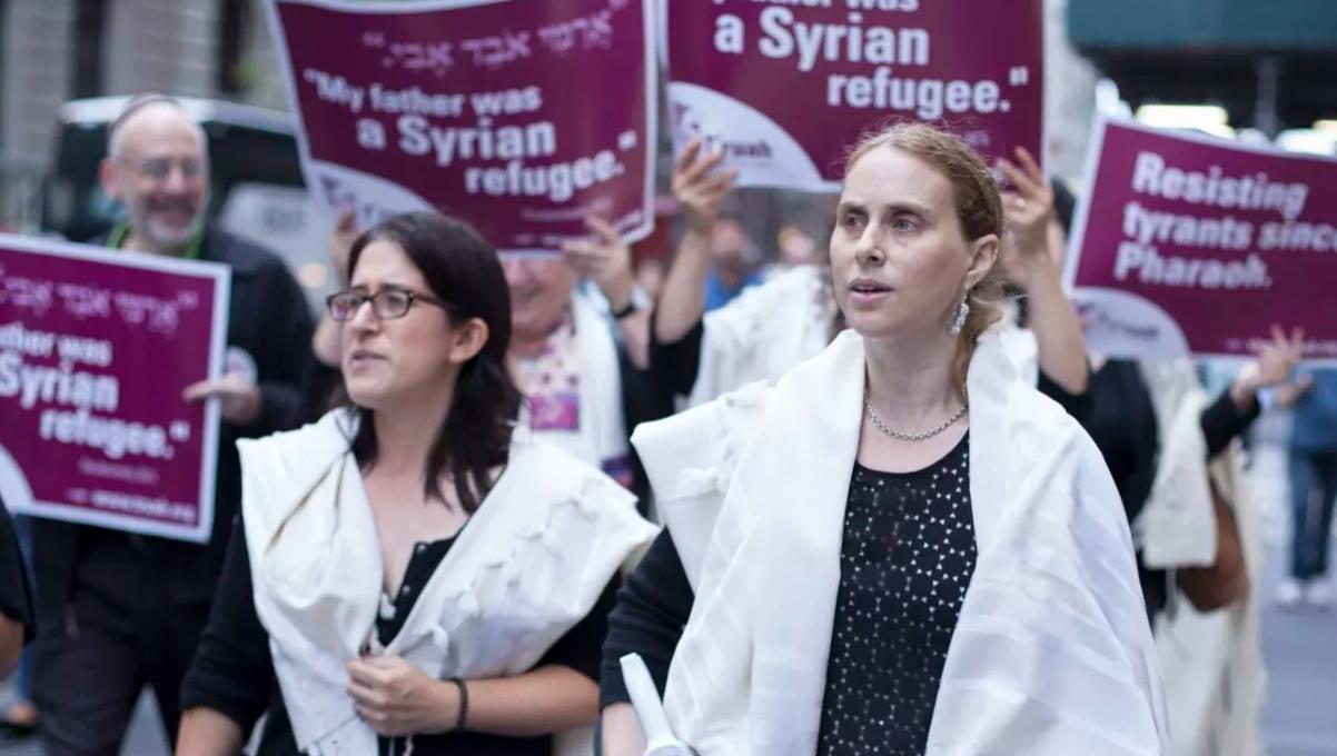 Rabbis Protest Trump