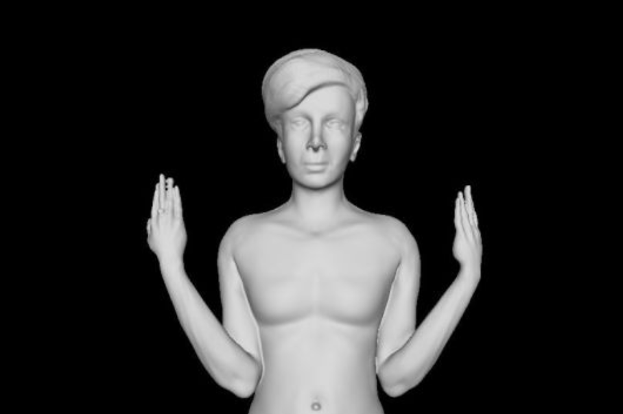 The Iranian Artist who 3D-printed Herself Into Israel