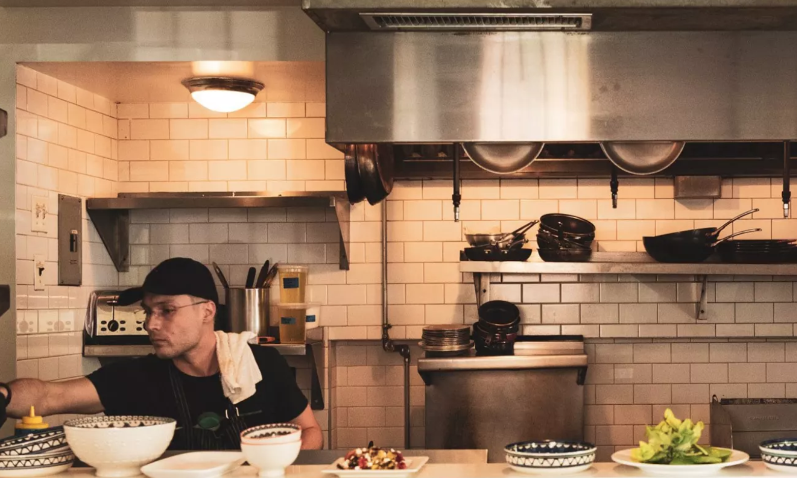 N.Y.C. Eatery Caters to Huddled Masses Yearning to ... Cook!
