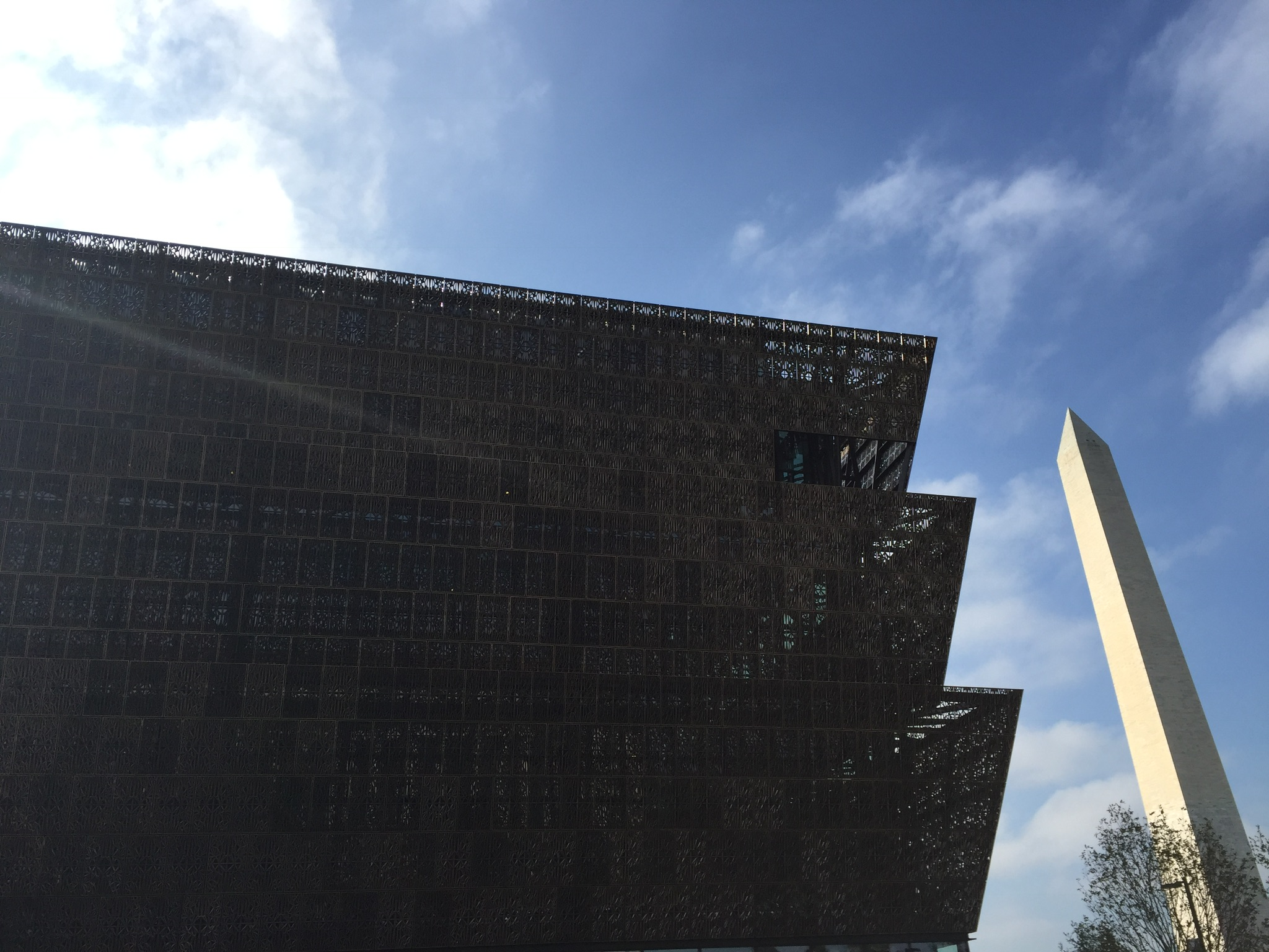 National Museum of African American History & Culture and the Washington Monument