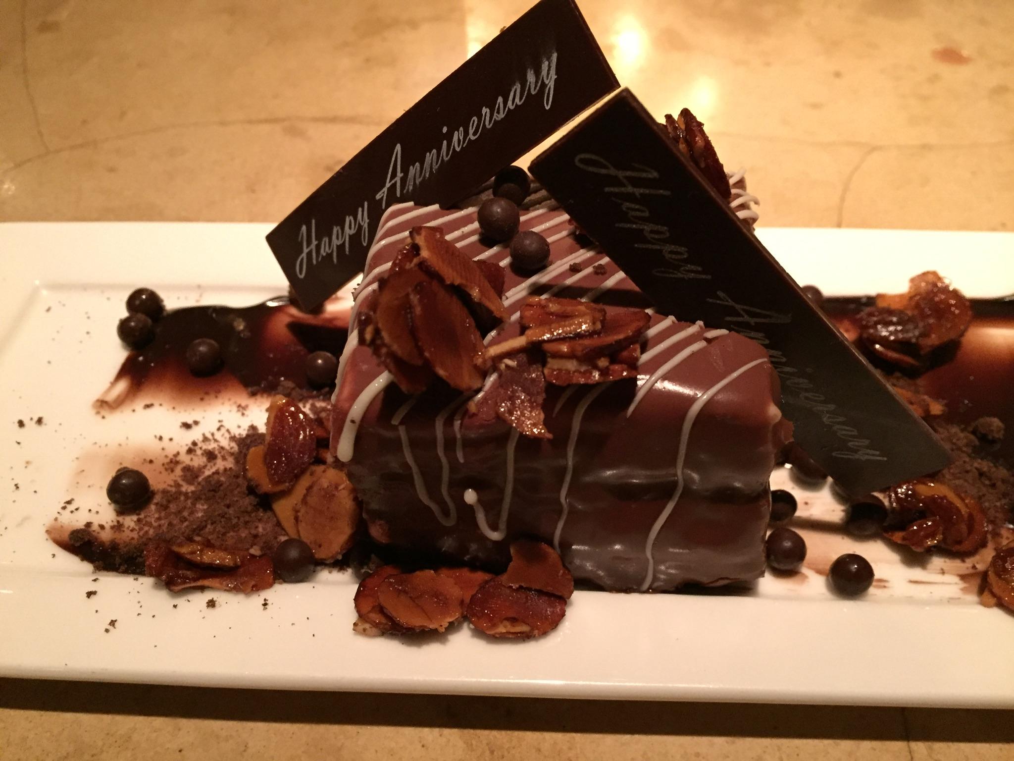 Dessert at Iron Gate