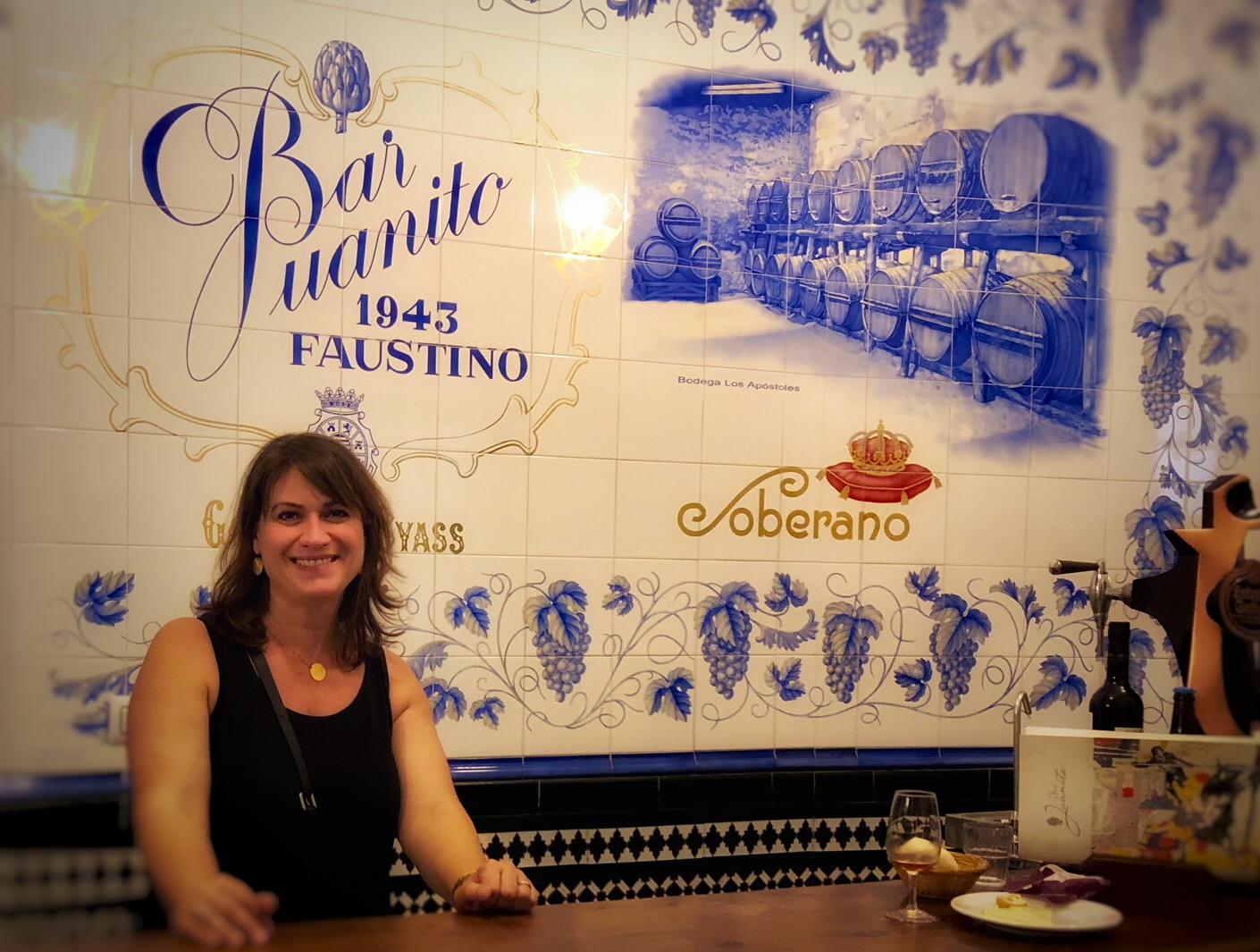 Me at Bar Juanito