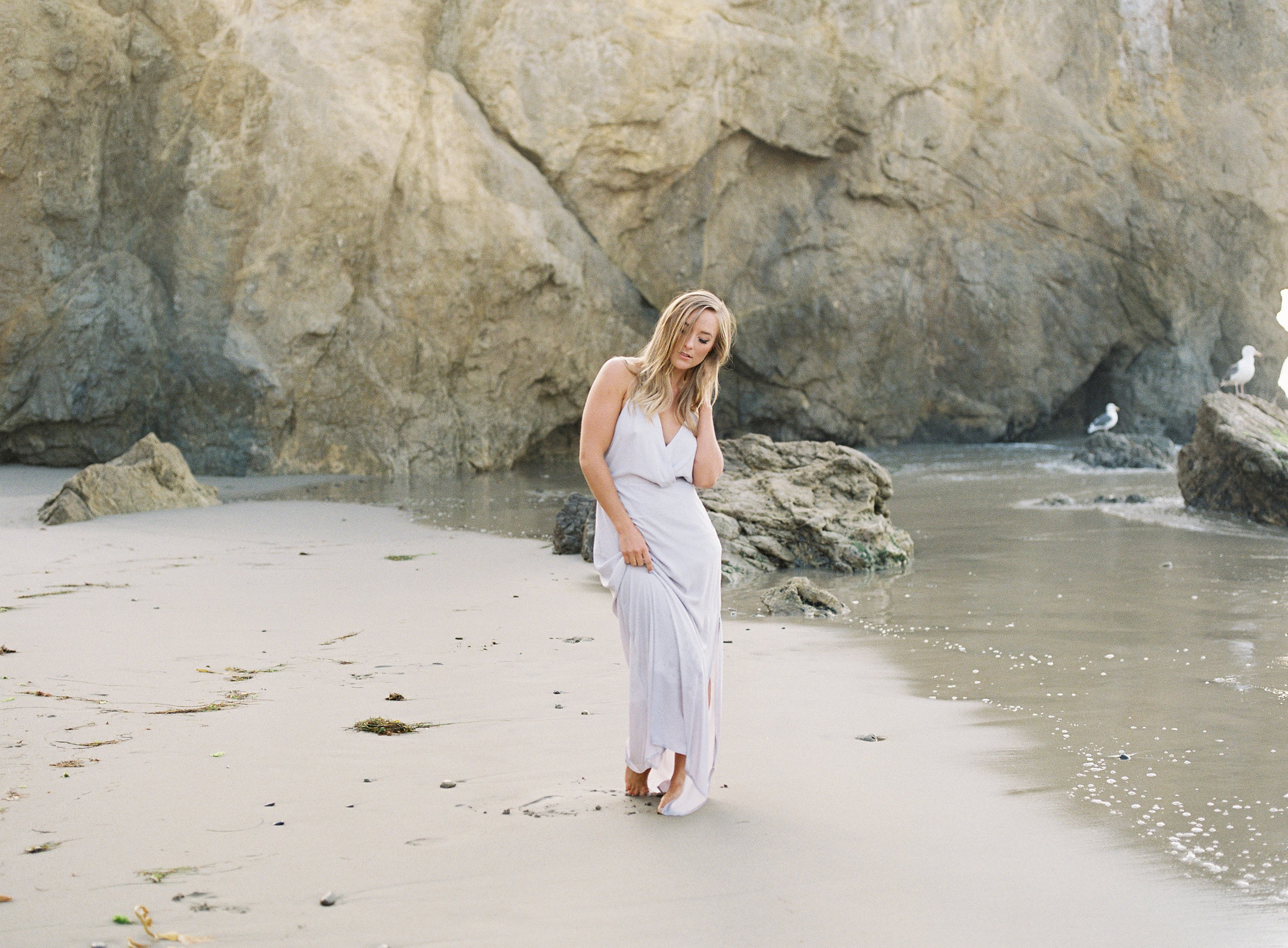 Charlotta - El Matador Beach Malibu - Peaches & Twine Fine Art Film Photography -68.jpg