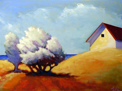 Early Morning Light,  2008 Acrylic on canvas 18 x 24 inches
