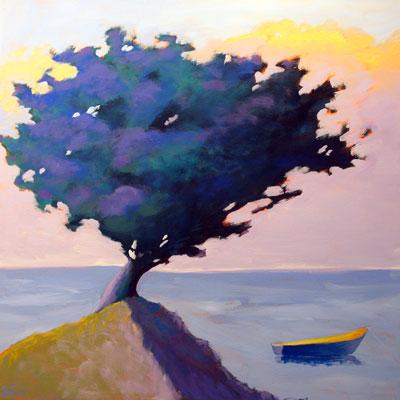 Highest Point,  2008 Acrylic on canvas 24 x 24 inches