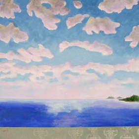 Morning Clouds,  2006 Acrylic on canvas 36 x 36 inches