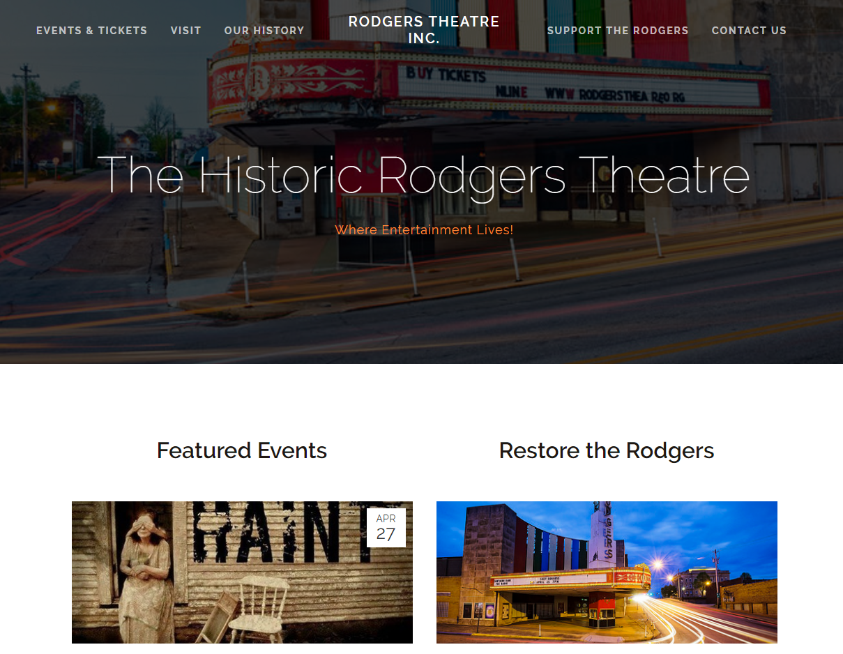 The Historic Rodgers Theater