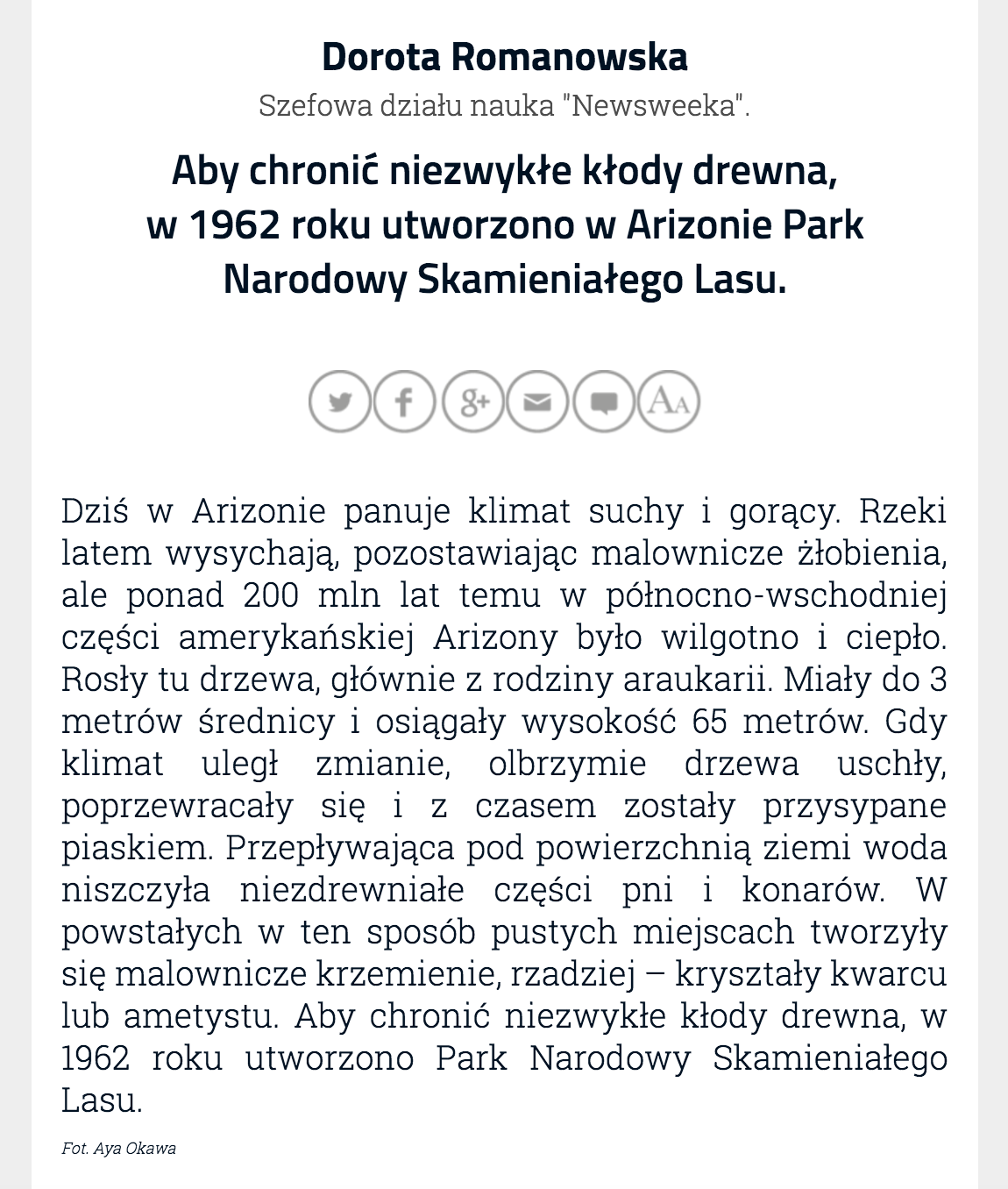 Issue Home Page: http://m.newsweek.pl/wydania/2162