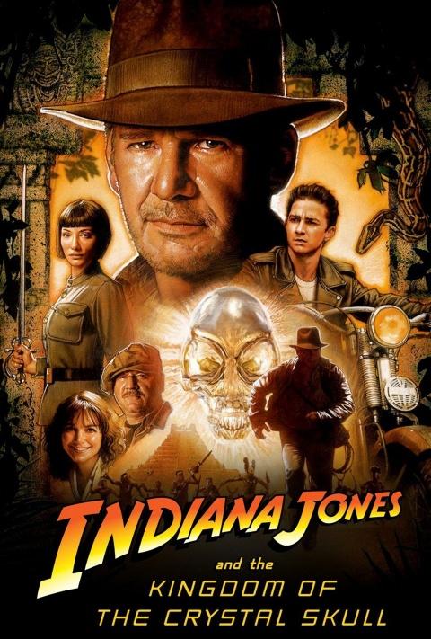 #21 Indiana Jones e o Reino da Caveira de Cristal (2008)
