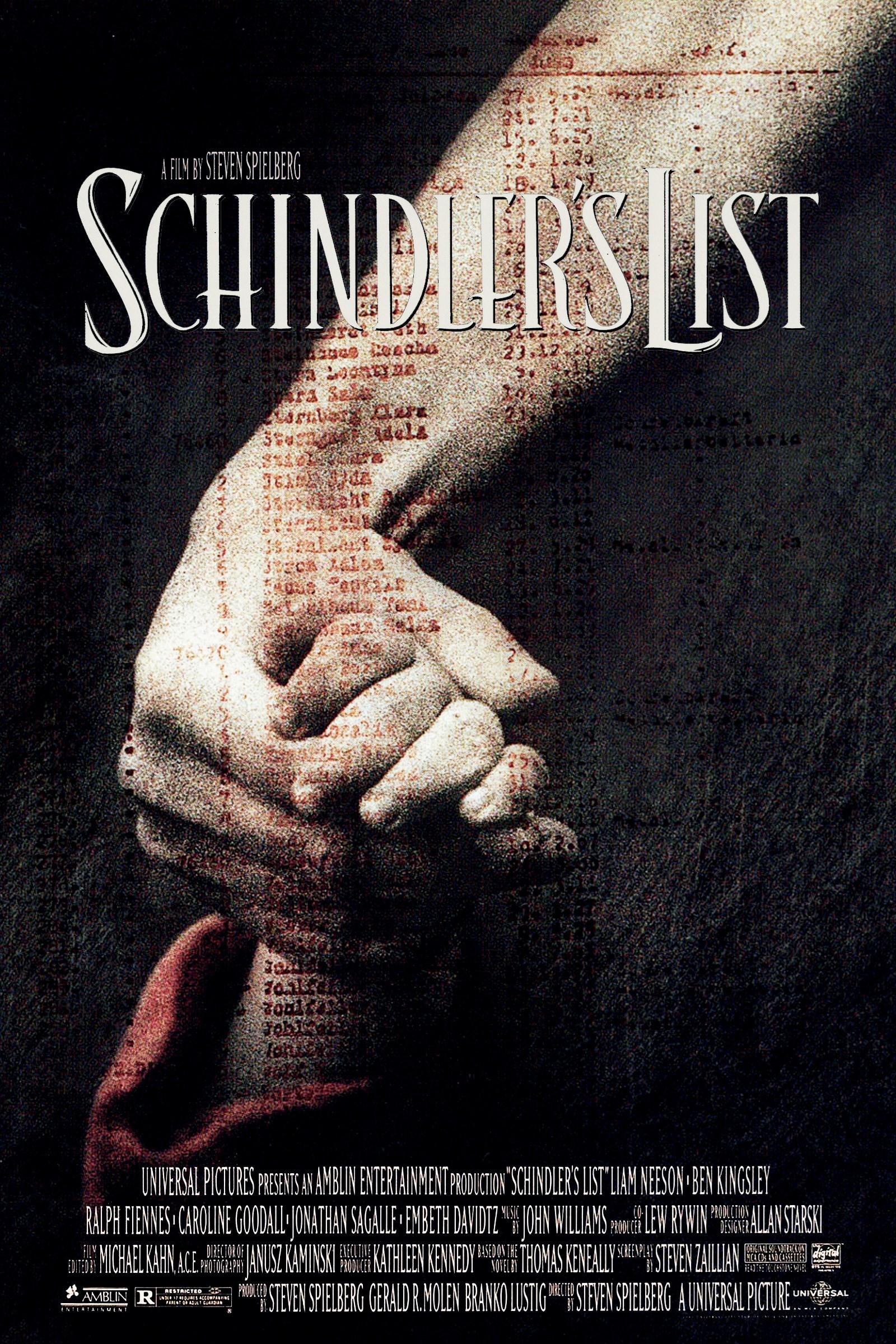 #2 A Lista de Schindler (1993)