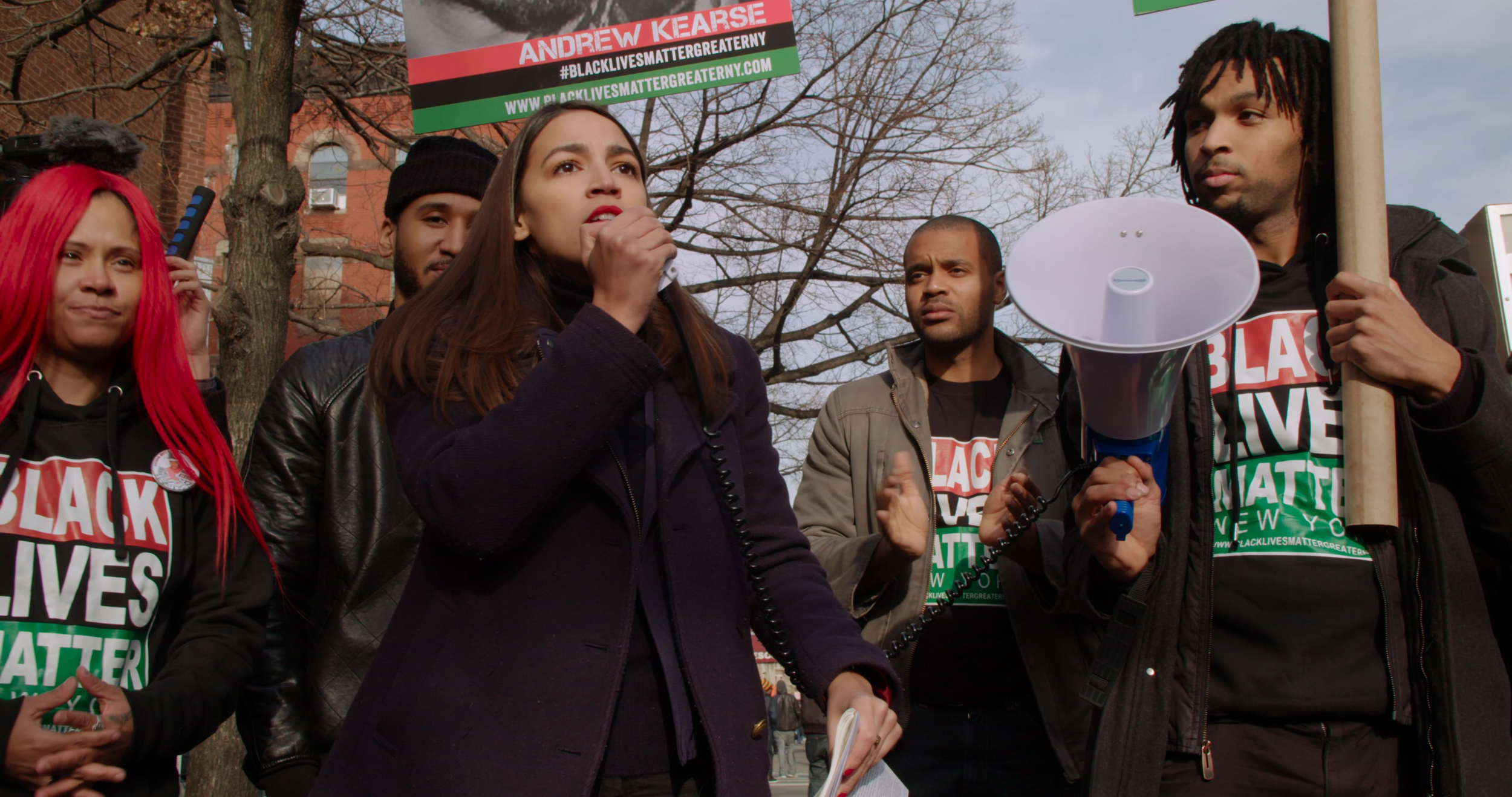 """""""I'm running because of Cori Bush. I'm running because of Paula Jean Swearengin. I'm running because everyday Americans deserve to be represented by everyday Americans.""""  - Alexandria Ocasio-Cortez"""