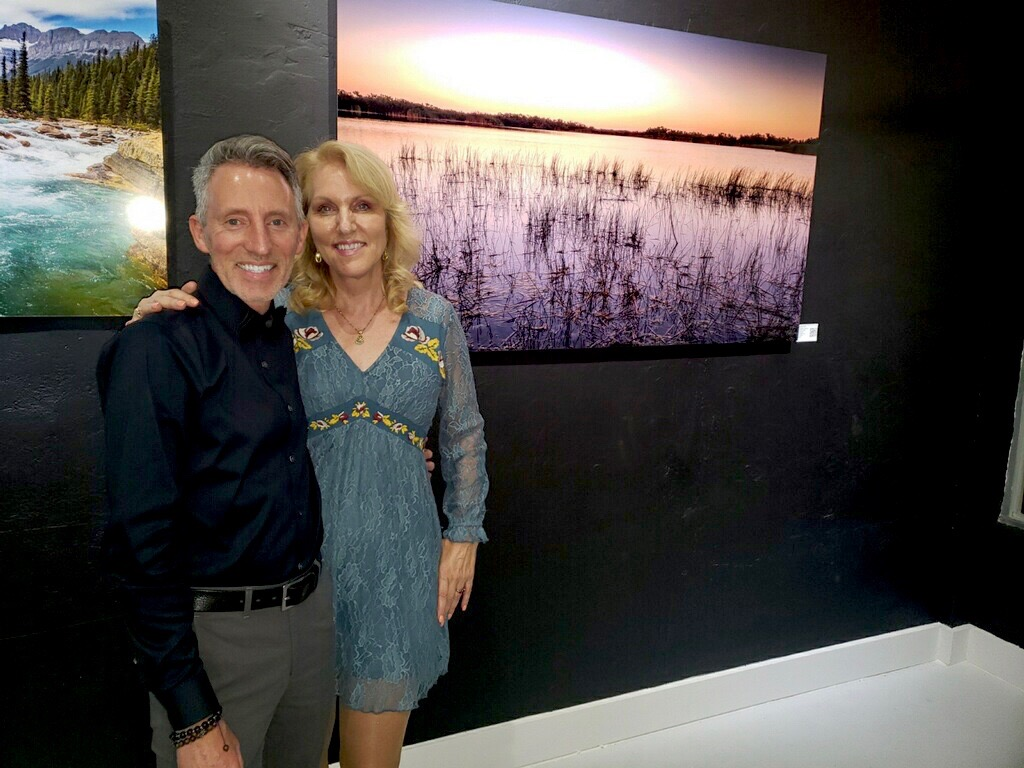 Gallery Grand Opening in Downtown Hollywood Florida